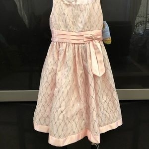 Girls NWT Pink & Sparkly Party Dress